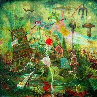 https://maessage.wordpress.com — peinture de Peter RODULFO • « Englishman likes tea at dawn » / « Anglais qui aime le thé à l'aube »