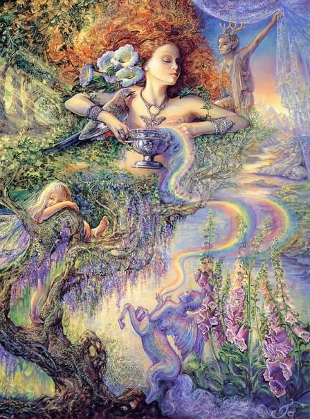 Enchantment — par Josephine Wall — www.josephinewall.co.uk